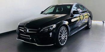 Mercedes-Benz C 300 đã qua sử dụng màu đen